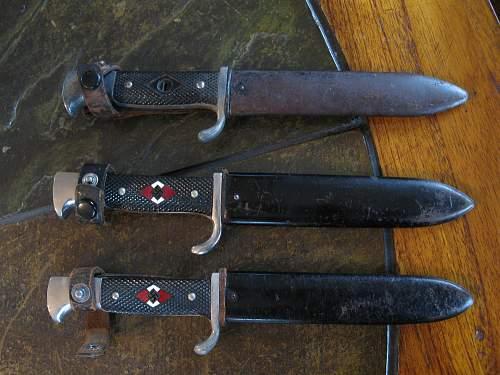 Denazified HJ knife