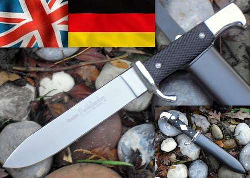 Post WW2 German Scouting / HJ Knife Transition Discussion