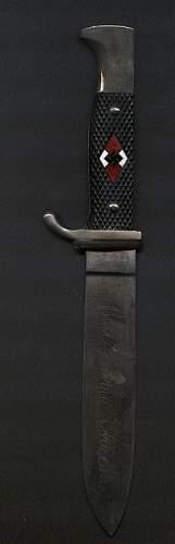 HJ knife authenticity.