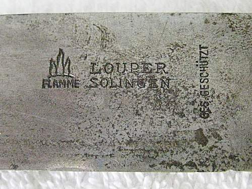Transitional HJ knife by Louper?