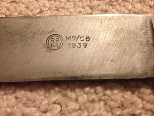 First HJ knife