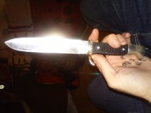 Fake M7/33 knife?