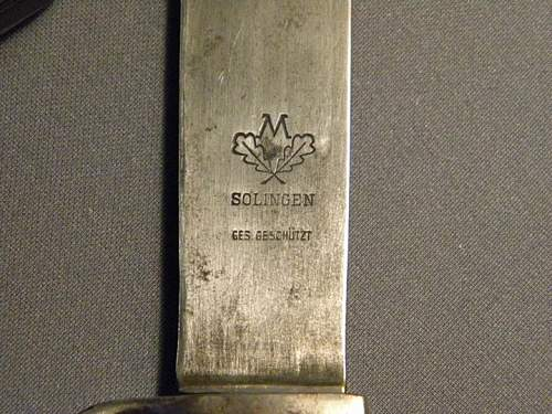 Question regarding a Hitler Youth knife