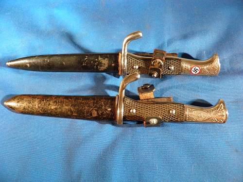 Click image for larger version.  Name:HJ honor bayonets 001.jpg Views:110 Size:229.9 KB ID:767660