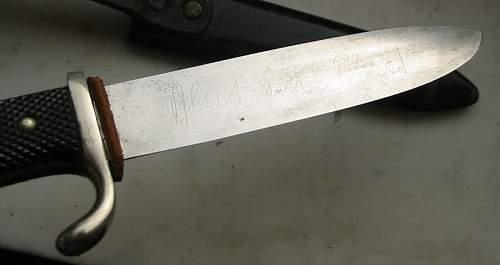 Here my third Hj knife