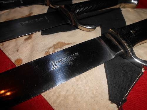 rare hj knife maker