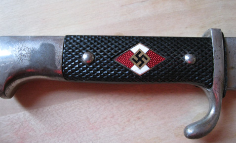 Hitler Youth Knife - suspect. Can anyone confirm?