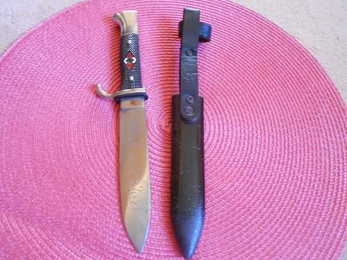 Transitional Knife Carl Halbach