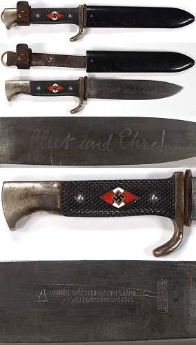 HJ knife - Carl Wustoff