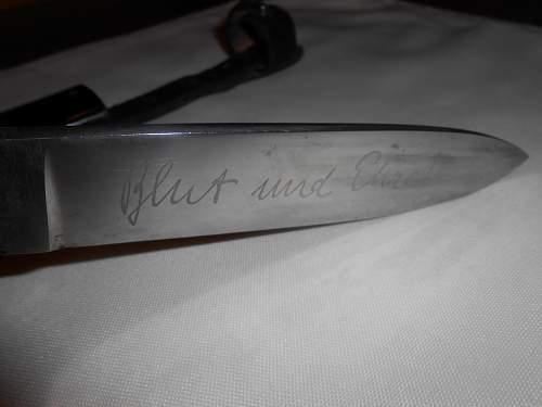 Transitional HJ Knife      WKC