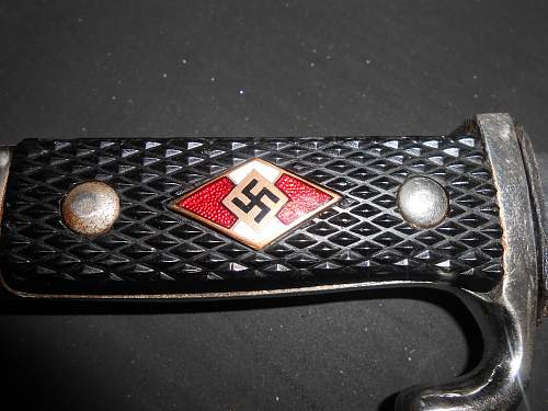 Hitler Youth Knife Diamond Variations From 1933-1942