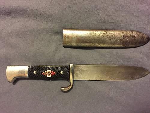 Anton Wingen HJ knife