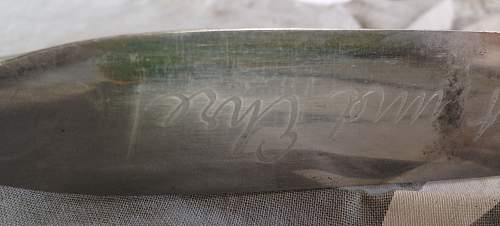 transitionel knife ..very good  condition ...without hj diamond