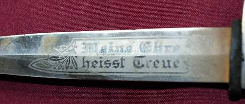 ss hj knife / bayonet