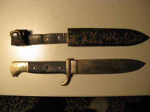 Hitler Youth,(HJ) Knife- what do you think?