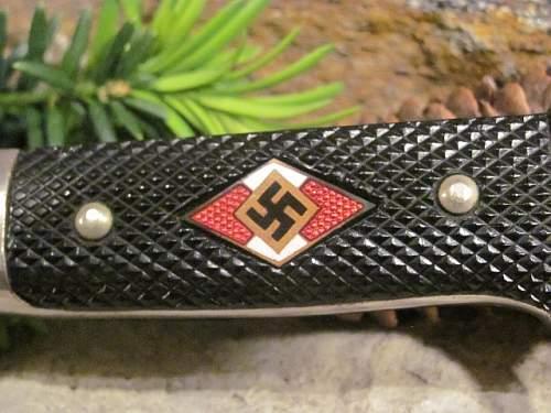 Hitler Youth w / Motto - C. D. Schaaff