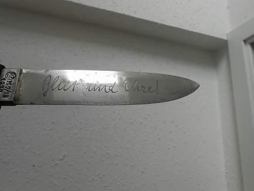 HJ Knife  Blut und Ehre