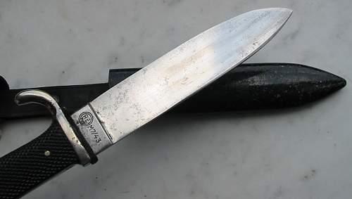 HJ Knife RZM M7-43 Paul Weyersberg