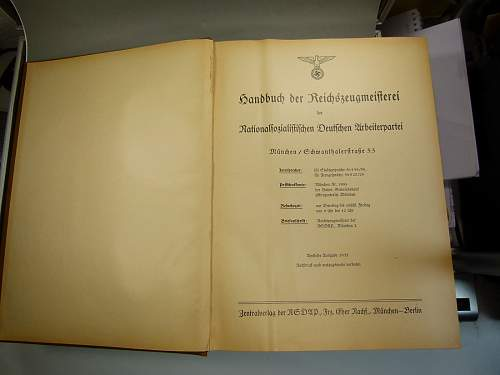Reichzeugmeisterei  ( RZM )  Organizational Function