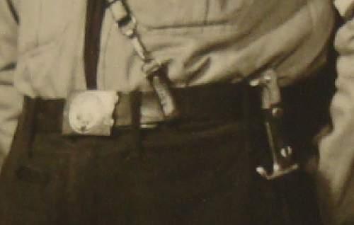 Very Early Carl Eickhorn, HJ knife / dagger grave