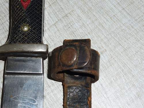 Hitler Jungend Knife RZM M7/51 1937