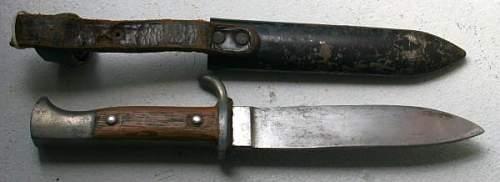 Hitler Jugend Knife???