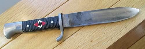 Robert Klaas transitional knife&scabbard