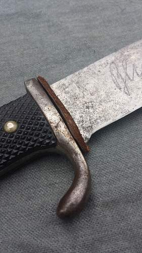 Early Hitler Jugend Dagger by Puma