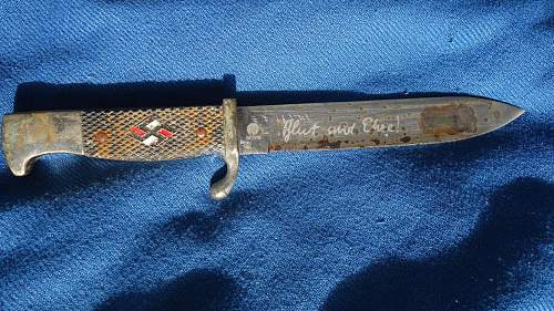 Real or fake HJ knife