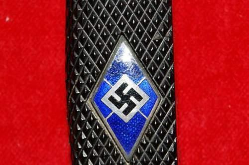 Hitler Jungend knife Kriegsmarine?