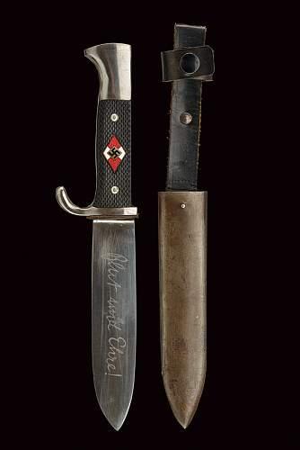 Transitional Hj knife Klittermann & moog