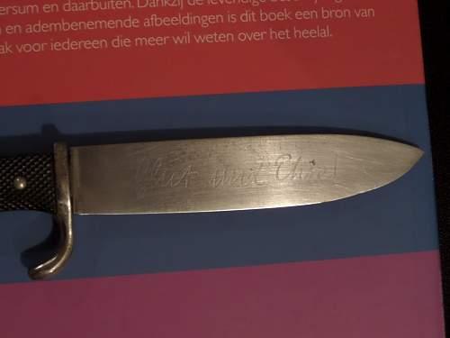 Early HJ fahrtenmesser