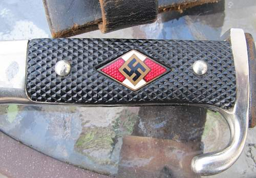 Hitler Youth Dagger SMF with Motto