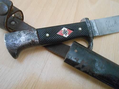 Transitional HJ Knife Hartkopf 1937
