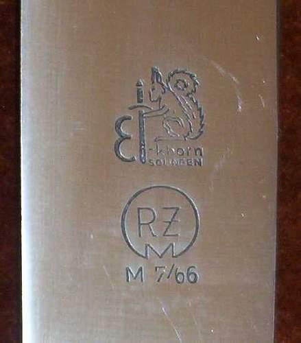 M7/36 HJ leader dagger ?