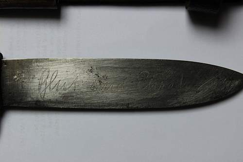 HJ Fahrtenmesser M7/84 Carl Schmidt Sohn