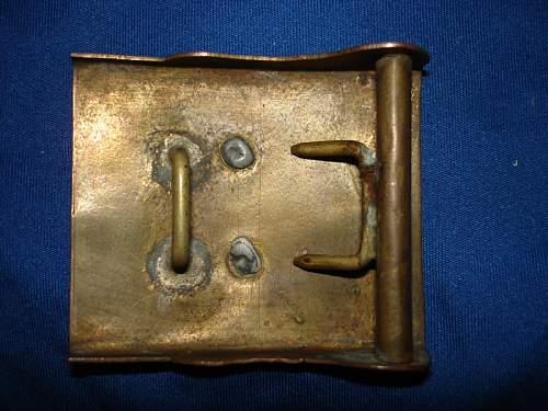 Prussian buckle 1847