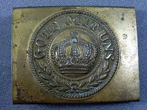 Imperial Army Buckle