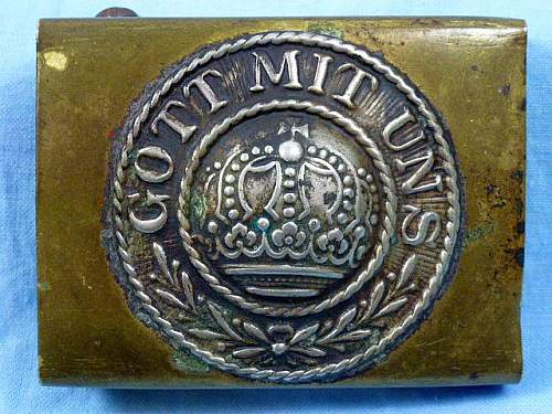 Brass Imperial Buckle