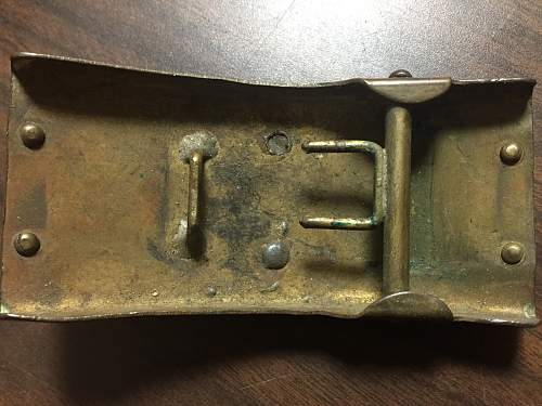 Looking for info ( ID) on a WW1 German belt buckle