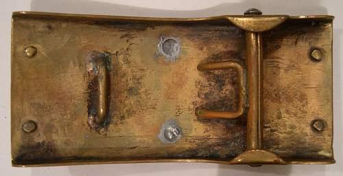 Looking for info ( ID) on a WW1 German belt buckle