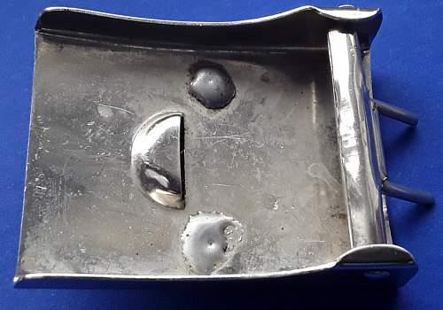 Silver Prussian Buckle