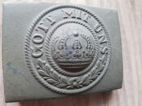 WW I German belt buckle