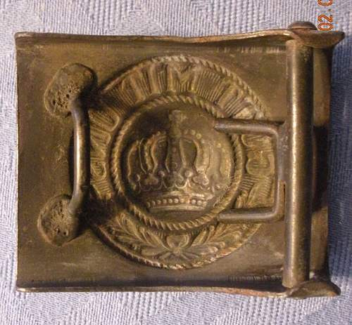 Prussian EM buckles - are these period?