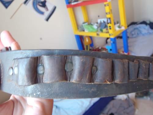 Bavarian Belt buckle and tab