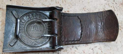 prussian buckle with 1939 tab