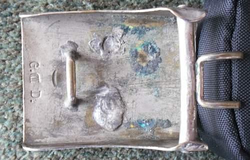 Prussian Nickel Buckle