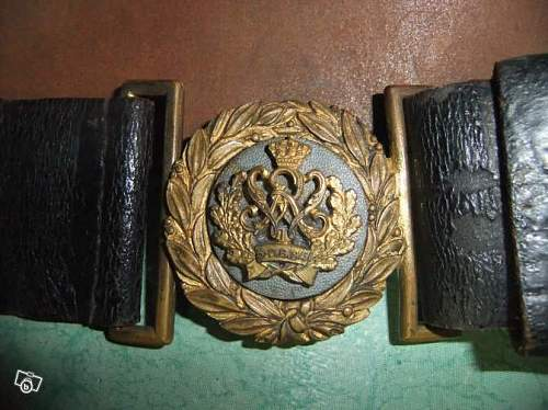 is this a prussian buckle ?