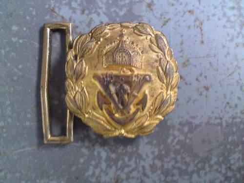NEED HELP- Kaiserliche Marine officer buckles