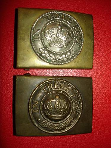 Imperial Buckles collection.